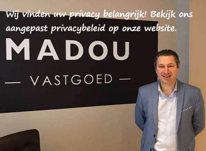 Madou Vastgoed vindt uw privacy belangrijk !