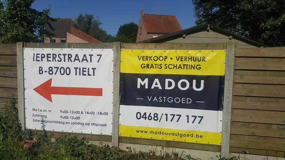 Madou Vastgoed in het straatbeeld