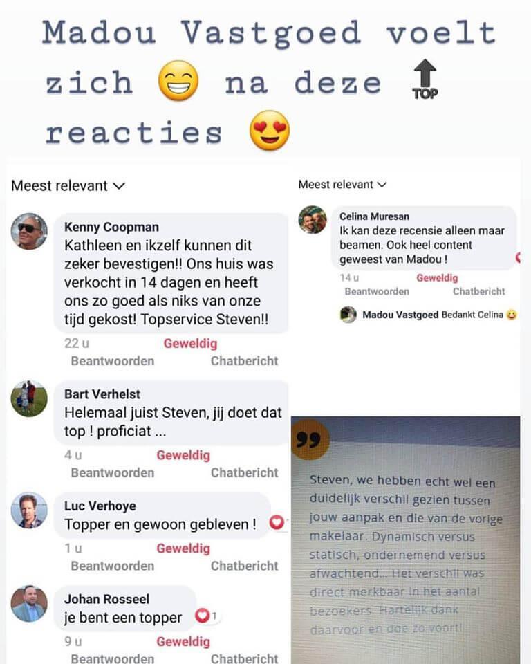🔝 reacties van klanten !